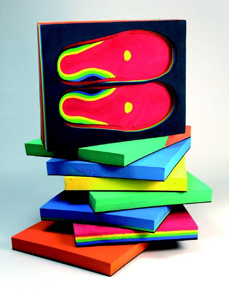 矫形鞋垫EVA加工原材料